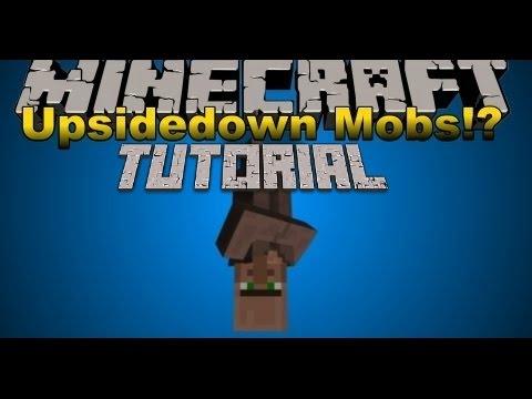**UPSIDE DOWN MOBS** Minecraft Xbox 360 Edition