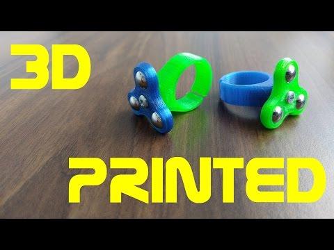 Ring Fidget Spinner - 3D Printed