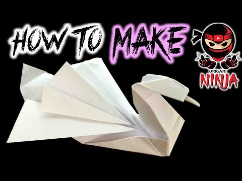 How to make: Origami Swan