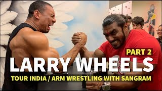 CELEBRATING, EATING, AND ARM WRESTLING IN INDIA!