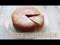 LOW CARB REZEPT: Einfacher Apfelkuchen - schnell selbstgemacht   Fitness-Dessert.de