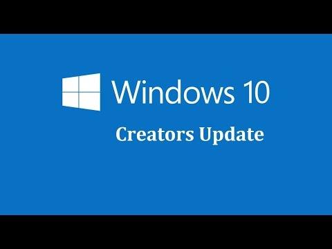 Creators Update New Features