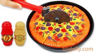 Toy Velcro Cutting Play Doh Pizza Microwave Toy Ice Cream Learn Fruits & Vegetables Toy Surprise Egg