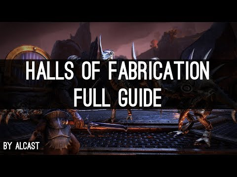 Guide Halls of Fabrication (vet) - Morrowind ESO