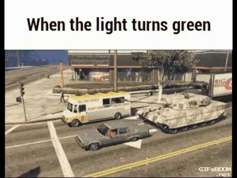 Tanks be like