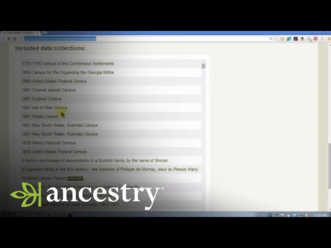 Free Records Available on Ancestry.com