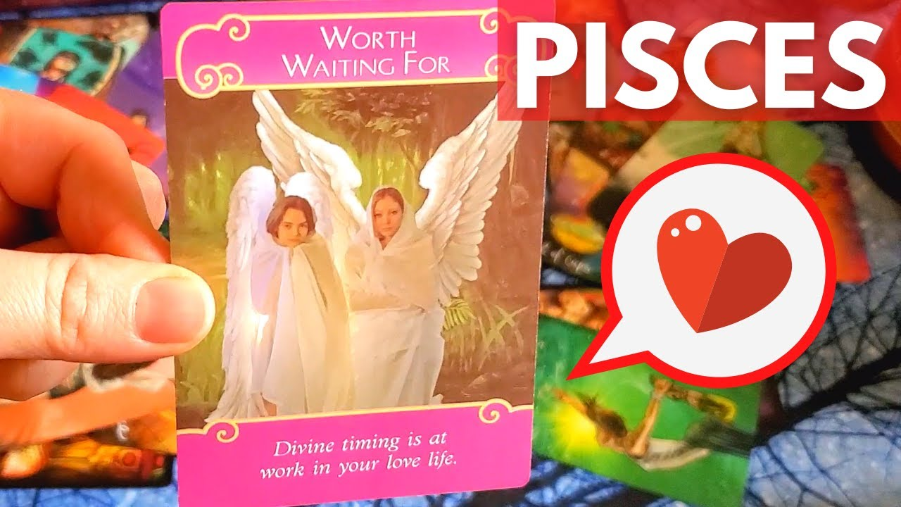 """PISCES! 💕 """"DIVINE TIMING! THIS TOOK A TURN I DIDN'T EXPECT..."""" TAROT CARD LOVE READING"""