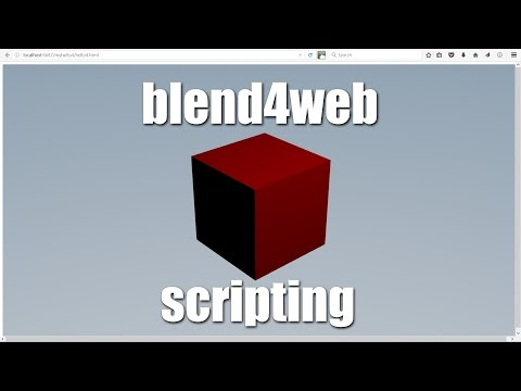 blend4web Scripting Tutorial, Loading a 3D Scene & Making It Interactive, Example Apps Explained