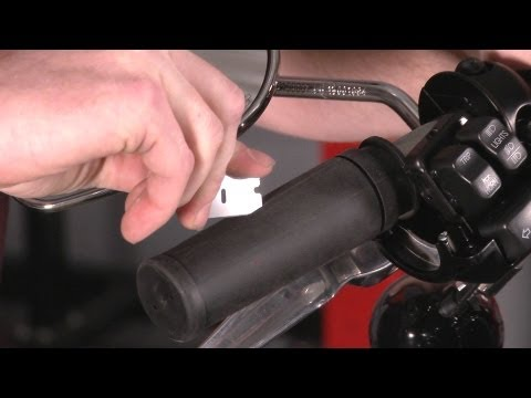 How to Replace Grips on a Harley-Davidson by J&P Cycles