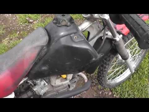 2002 XR100 Fix Up Project Part 1 - Lets Get The Little Honda Running!