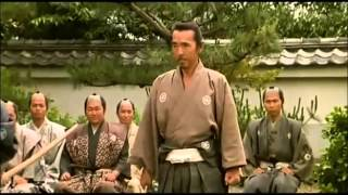 Download A samurai-ronin ( 浪人 ) displays his martial prowess to a local lord Video