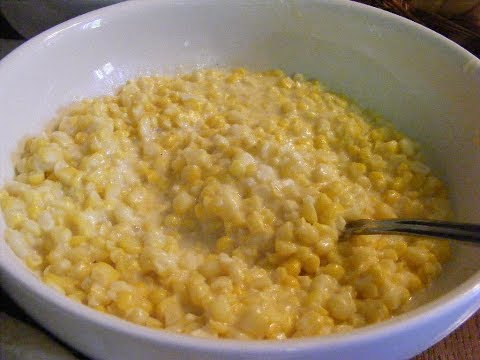 Canned Creamed Corn