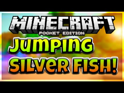 [HOW TO] Make Silverfish Jump (Funny) In MCPE (Minecraft - Pocket Edition)