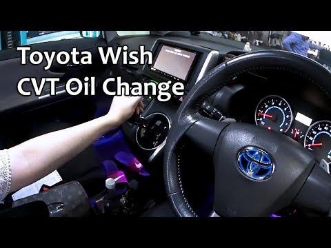 Toyota CVT TC Auto Transmission Oil Change