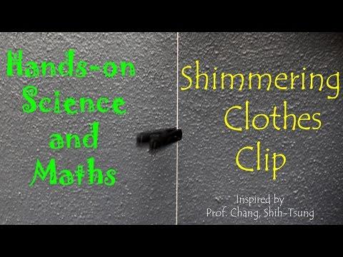 Shimmering Clothes clip | Kannada