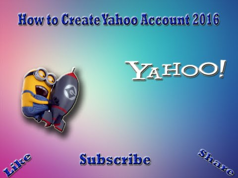 How to Create Yahoo Account in hindi 2016
