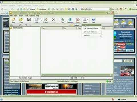 Kako odpreti datoteke iso, daa, bin, cue, mdf, mds...