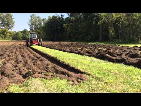 Plowing hay field part2