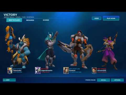 Fernando gameplay/paladins/easy win