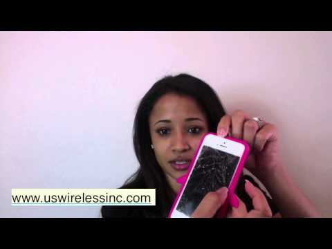 Broken cell phone screen repair - Cell phone repair review - Phone  818.284.4644