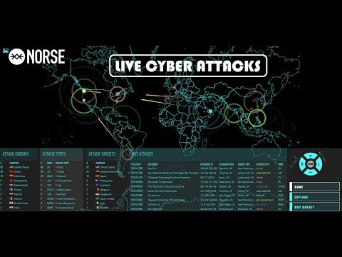 How to see live cyber attacks