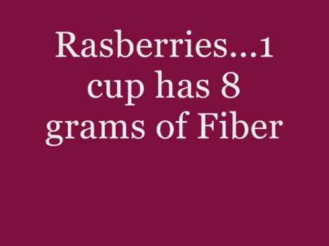 6 foods high in Fiber