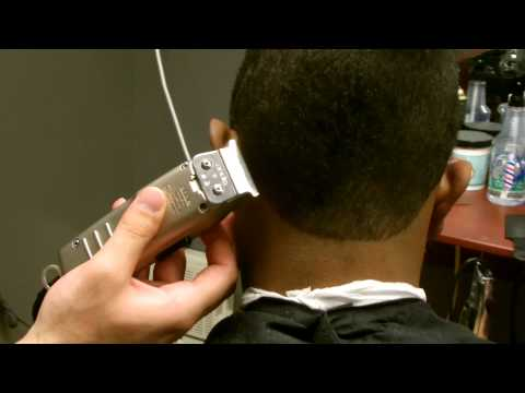 How to shapeup Back hairline - Barber Tip Tuesday