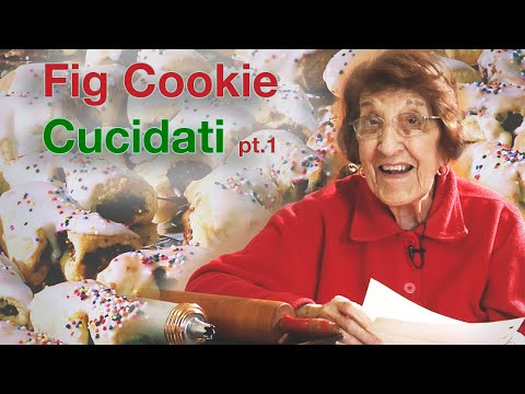 Holiday Cooking: Sicilian Fig Cookies - Part I