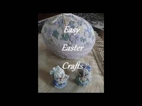 Paint Your Own Craft Pieces for Easter and Save Money