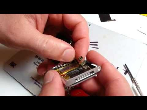iPod disassembly / button repair