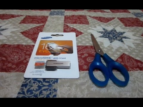 Unboxing Of Genuine SAMSUNG MicroSD Card EVO Class 10 UHS-1 16GB With USB Adapter