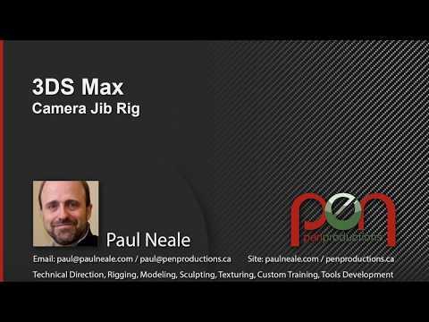 3DS Max Camera Jib