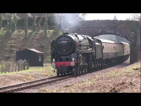 West Somerset Railway Spring Gala 2012 HD