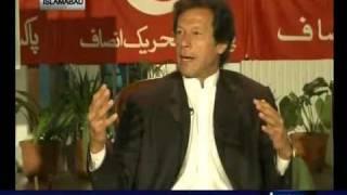 Imran Khan Worker Abusing Imran Khan In Tv Program  3.flv