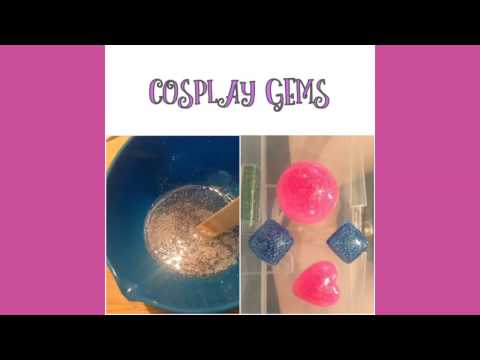 DIY How to make cosplay gems (EASY!!!)