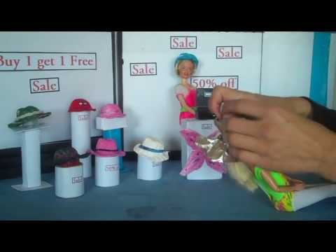 How to Make Barbie Doll Hats - Doll Crafts