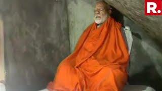 WATCH: PM Modi Meditates At Rudragufa In Kedarnath