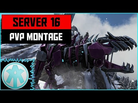 Ark Official PvP Xbox Server 16 PHYSICK Montage