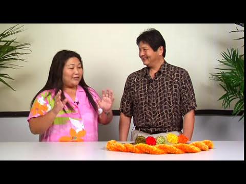 The Joy of Crafting 177/3 - Twisted Ilima Yarn Lei