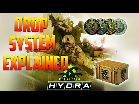 DROP SYSTEM EXPLAINED - OPERATION HYDRA CS:GO