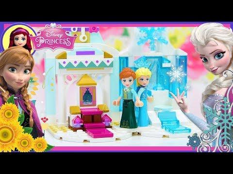 Anna Frozen Tiny Diorama Custom Lego Disney Princess Build Castle DIY