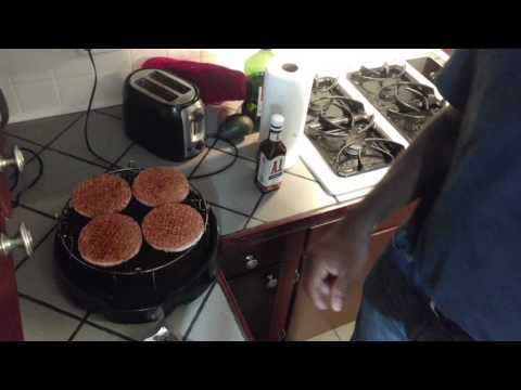 Hamburger from Frozen in NuWave Oven, Recipe