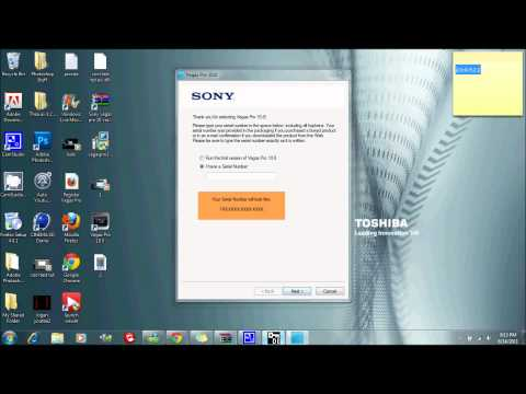 How To Get Sony Vegas Pro 10 Free | Voice Tutorial