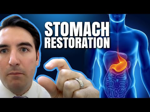 Gastritis, heart burn, and GERD: Stomach Restoration | Philip Oubre, MD | Functional Medicine
