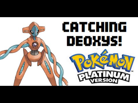 How to catch Deoxys in Pokémon Platinum.