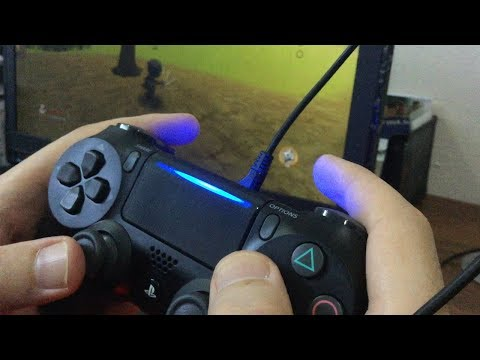 How To Connect PS4 Controller To a Laptop / PC