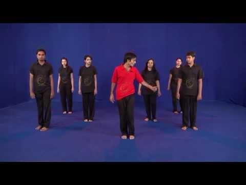 latest Garba( 24 steps dvd) ahmedabad gujarat : Egarba Tutorial with Irfan: Krishna Step HD