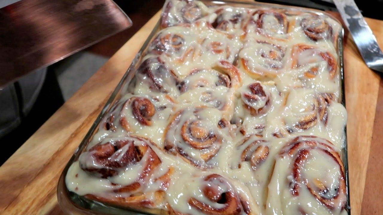 How to make Views Famous Cinnamon Rolls   Views recipe/ Receta FAMOSA de Roles de canela Americanos