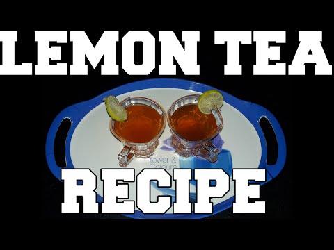 Tasty and Healthy,simple Lemon Tea Recipe in Hindi.निम्बू चाय Recipe in हिंदी।