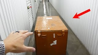 Download What's inside an Abandoned Storage Unit? Video